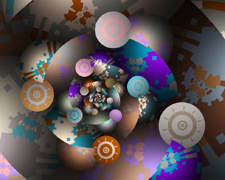 Anasazi Suns by Michael Sussna