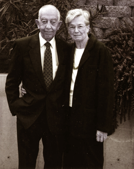 Gaell Lindstrom and his wife Marilyn